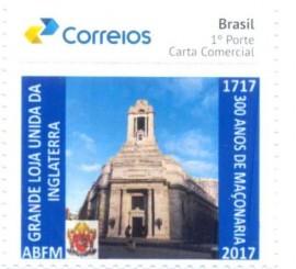 90A-Brasil - 300 Anos da Grande Loja Unida da Inglaterra
