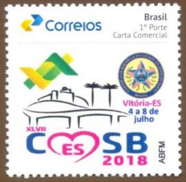 Brasil - CMSB 2018 -VITÓRIA-ES-MINT