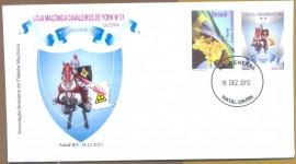 Brasil - 4º Aniv. da Loja Cavaleiros de York Nº 31 - GLMRGN